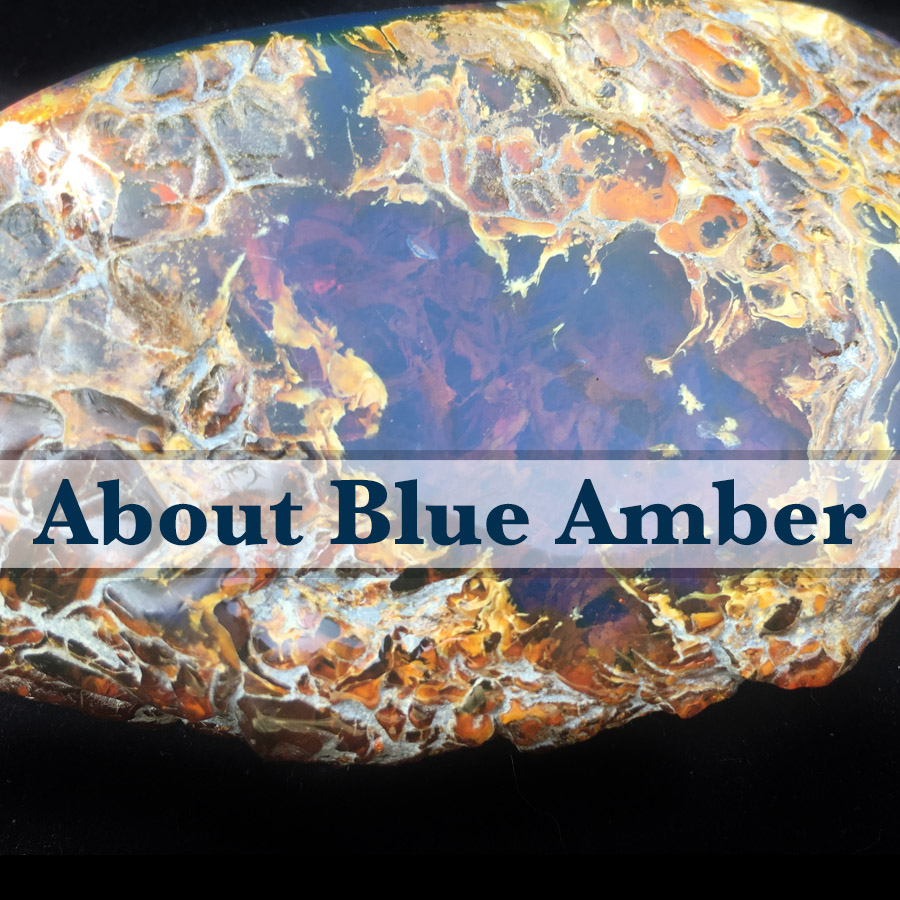 about blue amber