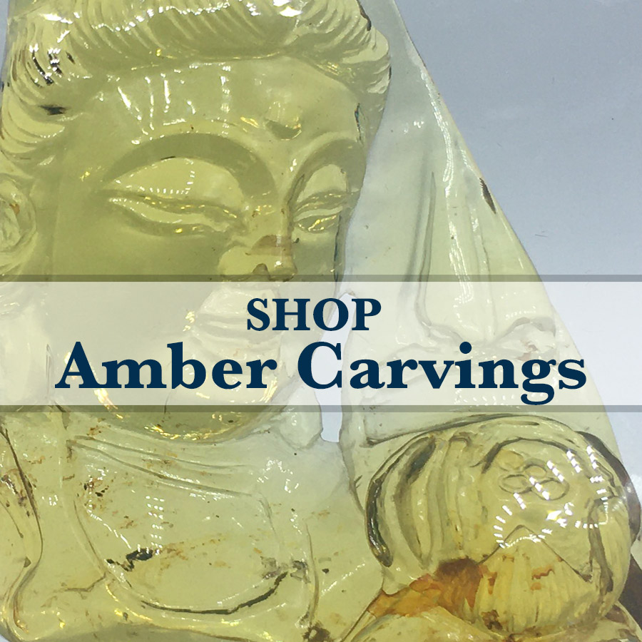 amber carvings