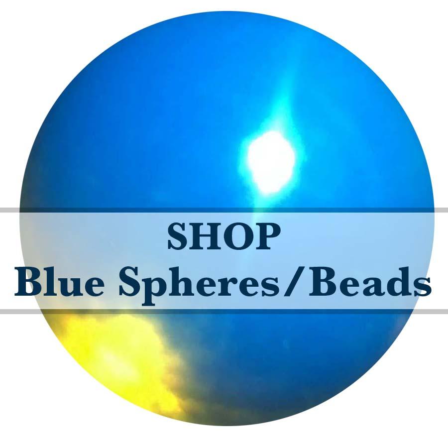 SHOP BLUE SPHERES