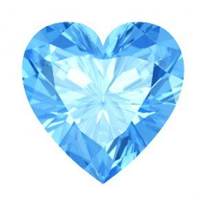 Swiss- TOPAS-HEART-8ct stunning-beauty