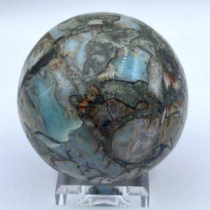 van Gogh-Larimar-Large-sphere