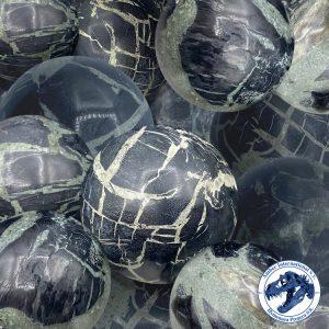 Black-larimar-spheres